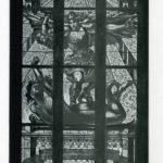 Zespół pięciu witraży z Katedry w Przemyślu ( projekt Jana Matejki): Chrzest Pana Jezusa, Św. Kazimierz, Św. Michał, Najświętsza Panna Maria, Św. Stanisław